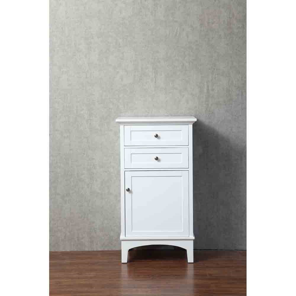 Stufurhome Norma 24 Inch Linen Cabinet - Whitenohtin Sale $459.99 SKU: HD-940LC :