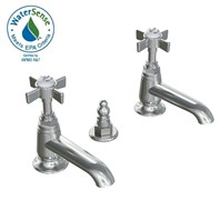 JADO Savina Pillar Taps Lavatory Faucet - Cross Handle 845103