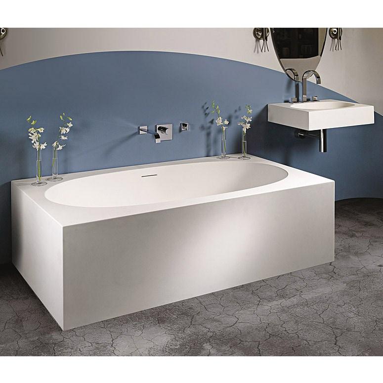 MTI Akana Bathtub 65625 inch x 37875 inch x 215 inch