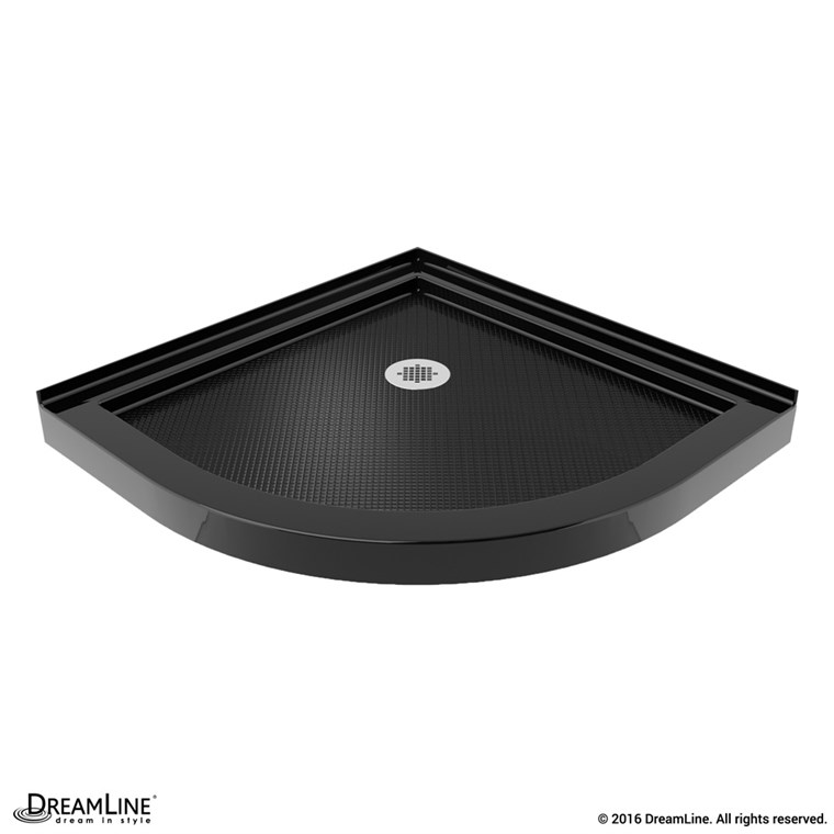 "Bath Authority DreamLine SlimLine Neo Shower Base (36"" by 36"") - Black DLT-2036360-88"