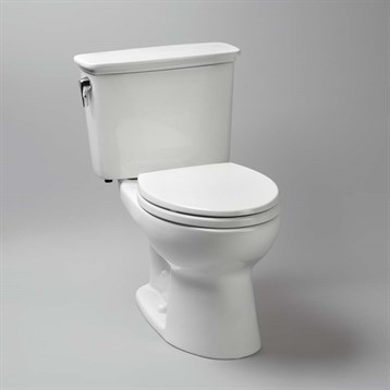 Toto Eco Drake Transitional Two-Piece Elongated Toilet ADA, 1.28 GPF CST744ELN by Toto