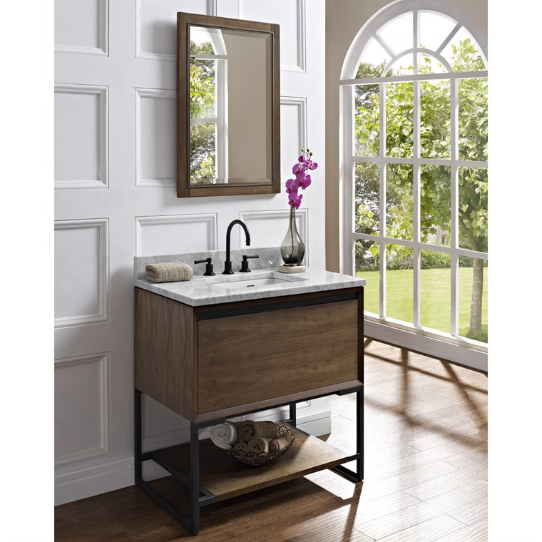 "Fairmont Designs M4 36"" Vanity - Natural Walnut 1505-V36"