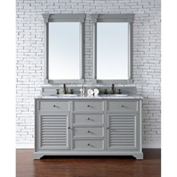 "James Martin 60"" Savannah Double Vanity - Urban Gray 238-104-V60D-UGR"