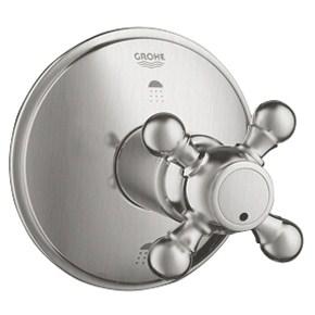 Grohe Geneva 3-Port Diverter Trim - Infinity Brushed Nickelnohtin Sale $271.99 SKU: GRO 19219EN0 :