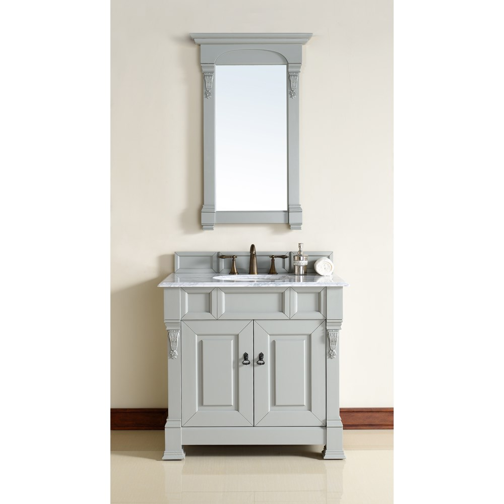 "James Martin 35"" Brookfield Single Cabinet Vanity - Urban Graynohtin Sale $773.00 SKU: 147-114-5591 :"