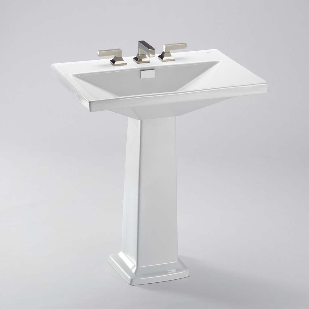 TOTO Lloyd® Pedestal Lavatory | Free Shipping - Modern Bathroom