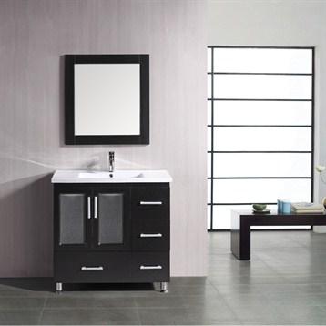"Design Element Stanton 36"" Bathroom Vanity, Espresso B36-DS by Design Element"