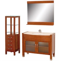 "Daytona 42"" Bathroom Vanity Set - Cherry A-W2109-42-CH-SET"