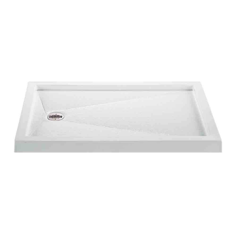 "MTI MTSB-4832MT Multi-Threshold Shower Base (48"" x 32"")nohtin"