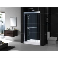 "Bath Authority DreamLine Duet Sliding Shower Door (45""-48"") SHDR-1248728"