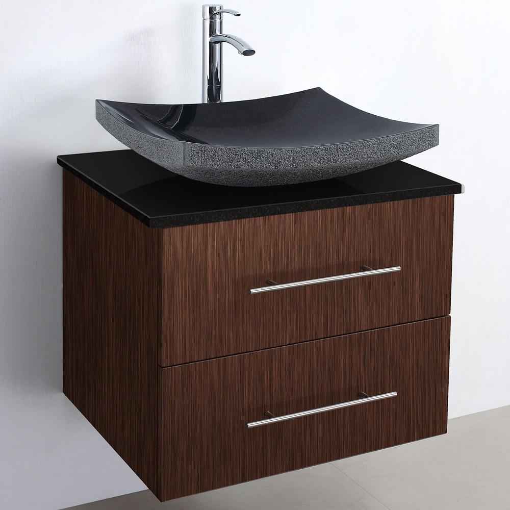 Modern Bathroom Vanity Zebrawood