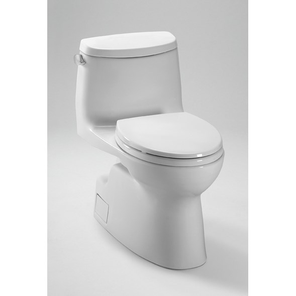 TOTO Carlyle® II One-Piece High-Efficiency Toilet, 1.28GPF - SoftClose Seat Included MS614114CEFG
