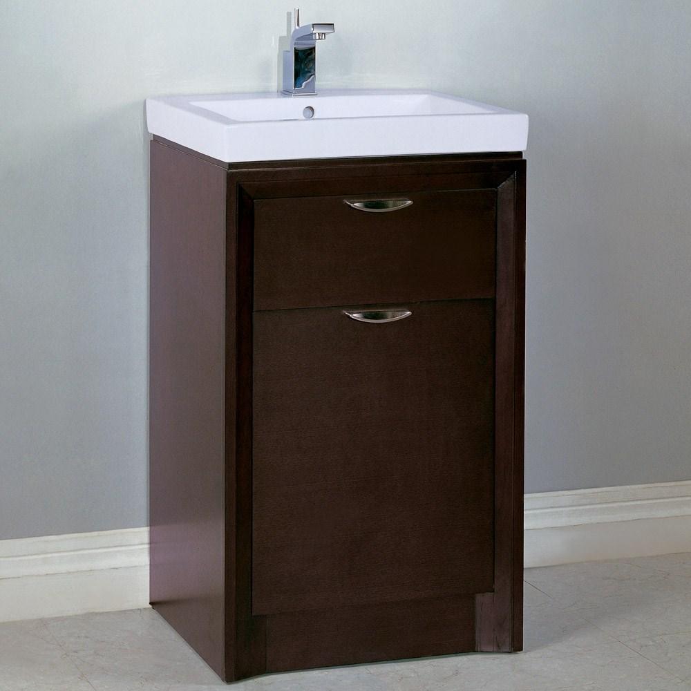 Fairmont Designs 21 Caprice Vanity Combo Espresso Free Shipping Modern Bathroom