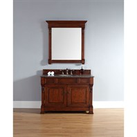 "James Martin 48"" Brookfield Single Vanity - Warm Cherry 147-114-5281"