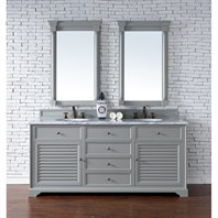"James Martin 72"" Savannah Double Vanity - Urban Gray 238-104-V72-UGR"