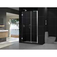"Bath Authority DreamLine Unidoor Frameless Adjustable Shower Door (48""-49"") SHDR-20487210C"