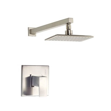 Danze Mid-Town 1H Shower Only Trim Kit 1.75gpm, Brushed Nickel D501562BNT by Danze