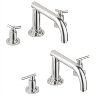 Grohe Atrio Roman Tub Filler - Infinity Brushed Nickel