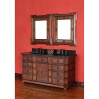 "James Martin 60"" Regent Double Vanity - English Burl 200-V60D-ENB"