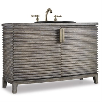 """Cole & Co. 50"""" Designer Series Milano Hall Chest, Repeating Natural Walnut 11.22.275550.24 by Cole & Co."""