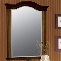 "Fairmont Designs 25"" Traditional Collection Manor Mirror - Rich Brown"