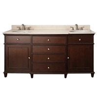 "Avanity Windsor 72"" Vanity Only - Walnut AVA11401-72-WAL"