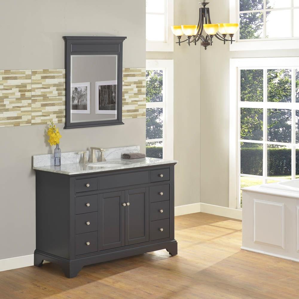 "Fairmont Designs Framingham 48"" Vanity - Obsidiannohtin Sale $1495.00 SKU: 1508-V48 :"