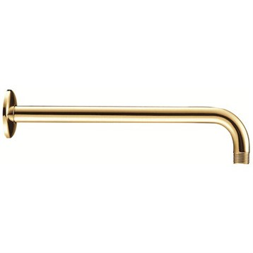 """Danze 15"""" Right Angle Showerarm with Escutcheon, Polished Brass D481027PBV by Danze"""