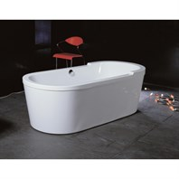 Aquatica PureScape 015 Freestanding Acrylic Bathtub - White Multiple Sizes Aquatica PureScape 015
