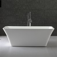 "Tiffany 59"" Small Soaking Bathtub by Wyndham Collection WC-BTK1504-59"