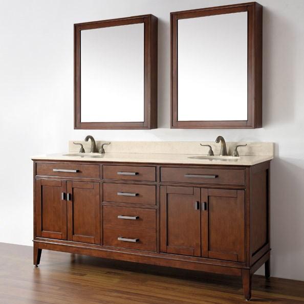 Avanity Madison 72 Double Bathroom Vanity Free Shipping Modern