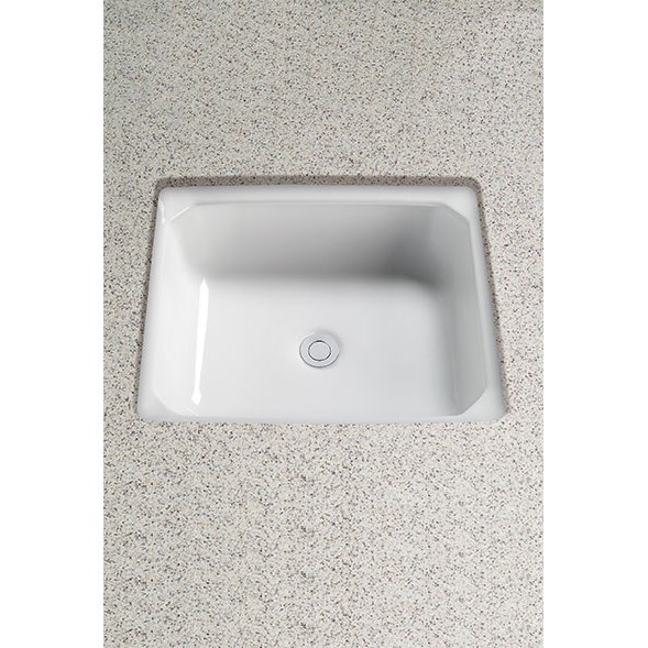 TOTO Guinevere® Undercounter Lavatory, with CeFiONtect LT973G