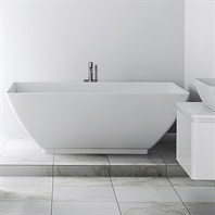 "Americh International Roc Collection Freestanding Bathtub (64"" x 34"" x 24"") AI2201-WH"