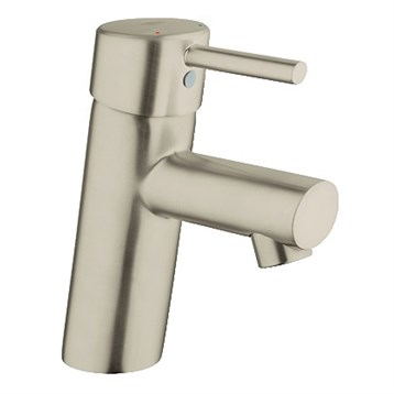 Grohe Concetto Lavatory Single-hole Centerset S-Size, Brushed Nickel Infinity GRO 34271EN1 by GROHE