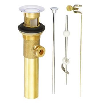 "Danze 1-1/4"" Metal Pop-Up Drain Assembly, Polished Brass D495002PBV by Danze"