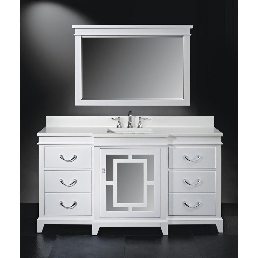 "Luxe Wallingford 66"" Single Bathroom Vanity"