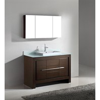 "Madeli Vicenza 48"" Bathroom Vanity - Walnut B999-48C-001-WA"