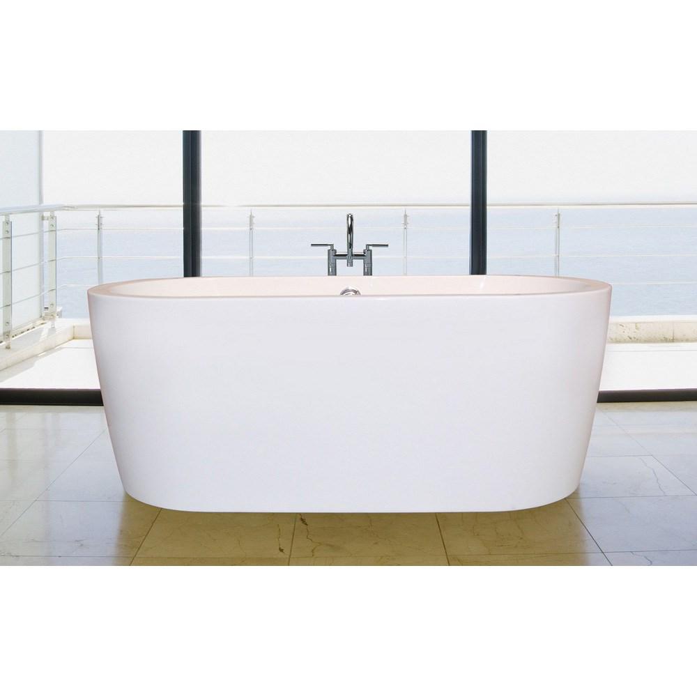 Aquatica PureScape 014A Freestanding Acrylic Bathtub - White