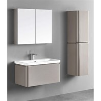 "Madeli Euro 36"" Bathroom Vanity for Integrated Basin - Silk B930-36-002-SK"