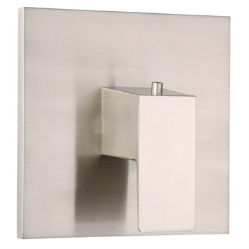 Danze Mid-Town 1H 3/4'' Thermostatic Valve Trim Kit, Brushed Nickel D562062BNT by Danze