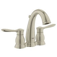 "Grohe Parkfield 4"" Lavatory Centerset - Brushed Nickel GRO 20391EN0"