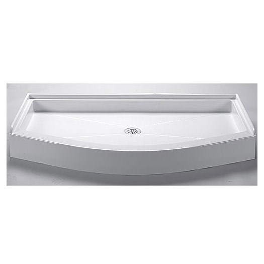 "MTI MTSB-6027-36 Shower Base (60"" x 27""/36"")"
