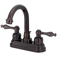 Danze® Sheridan™ Two Handle Centerset Arched Lavatory Faucet - Tumbled Bronze D301355BR