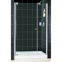 "Bath Authority DreamLine Elegance Frameless Pivot Shower Door and SlimLine Single Threshold Shower Base (36"" by 48"") DL-6202C"