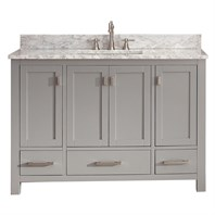 "Avanity Modero 48"" Single Bathroom Vanity - Chilled Gray MODERO-48-CG"
