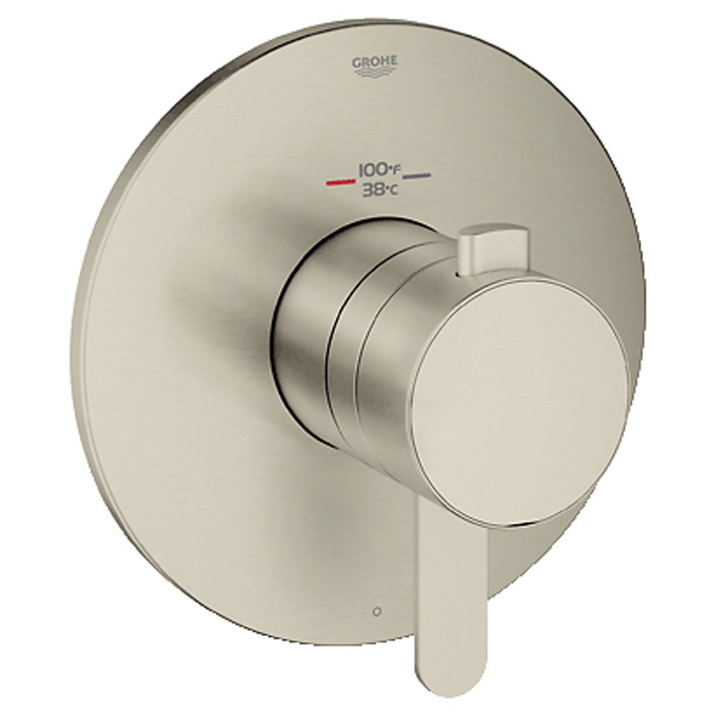 Grohe Europlus Single Function Thermostatic Trim with Control Module - Brushed Nickelnohtin Sale $465.99 SKU: GRO 19869EN0 :