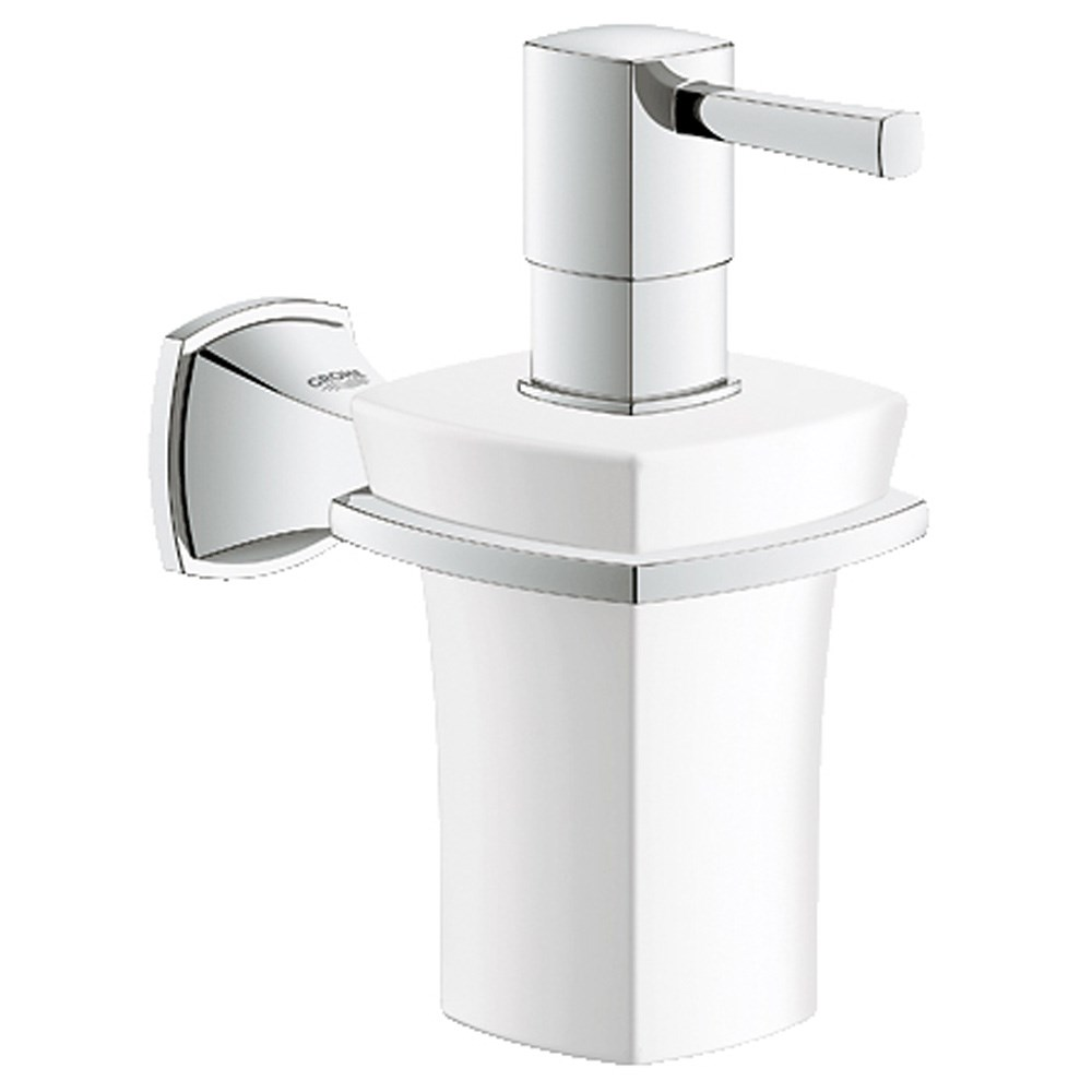 Grohe Grandera soap dispenser including Holder - Chromenohtin