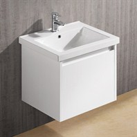 Vigo 23-inch Bianca Single Bathroom Vanity - White Gloss VG09034001K1