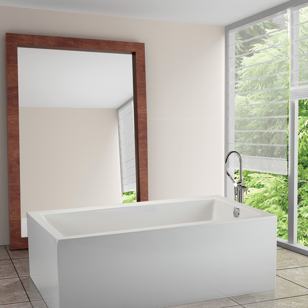 """MTI Andrea 7A Freestanding Sculpted Tub (60"""" x 31.5"""" x 24.75"""")nohtin Sale $4702.50 SKU: MTDS-97A :"""