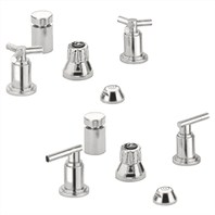 Grohe Atrio Wideset Bidet Faucet - Infinity Brushed Nickel